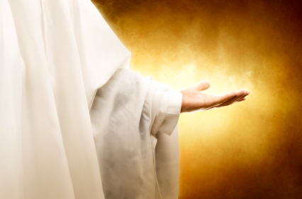 jesus-christ-human-hand-god-angel-christianity-reaching-robe-white-palm-glowing