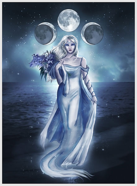 the moon goddess