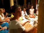 Bali úti-beszámoló és felajánló szertartás